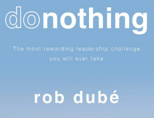 """Book Recommendation:  """"donothing"""" by Rob Dube"""