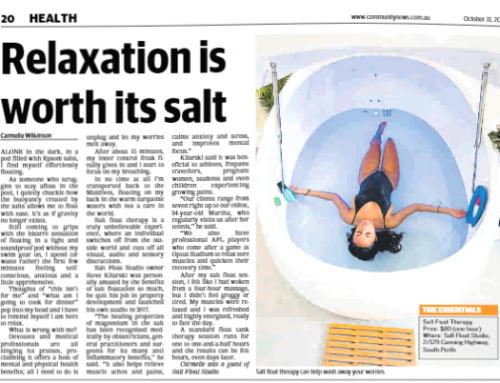 Western Suburbs Review: Relaxation is worth its salt