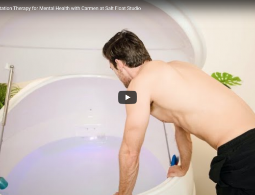 VIDEO 5: Floatation Therapy for Mental Health with Carmen at Salt Float Studio