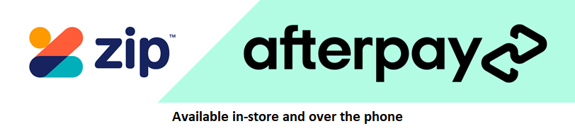 AfterPay Zip Pay Available